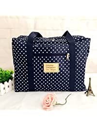 J Go Fashion Portable Waterproof Folding Travel Storage Bag Large Capacity Quilt Clothes Underwear Storage Container...