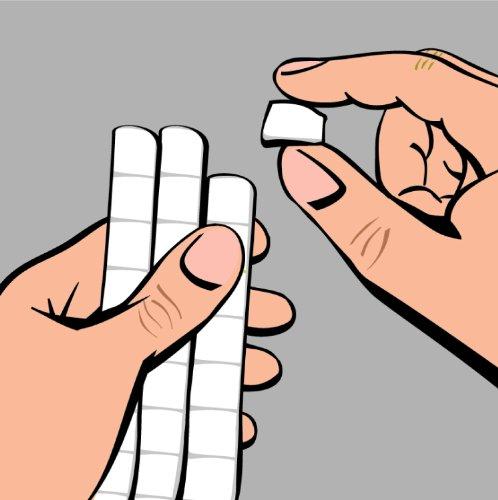 @ UHU 1648810 – Quadratini in pasta adesiva Patafix, 80 pezzi, colore: bianco lista dei prezzi