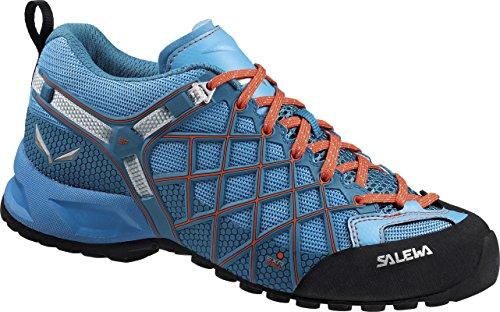 Salewa Ws Wildfire Vent Womens Scarpe Da Trekking E Da Trekking Blue (river Blue / Clementine 0336)