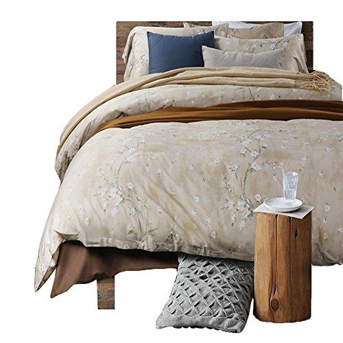 Egiziano lungo fiocco di cotone biancheria da letto, 4 pezzi 60S raso stampa Bedding 4 pezzi , a , 2.0m bed