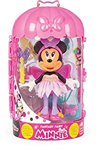 Minnie Mouse- Minnie Fashion Doll Hada Juguete, Color Variado, Talla Unica (China 1)