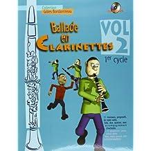 Ballade en Clarinettes Premier Cycle vol 2 (+ 1 CD)