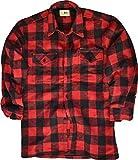 Holzfäller Hemd / 100% Cotton / dicke Qualität / S - 3XL Farbe Schwarz/Rot Größe XL