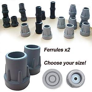 Hohe Qualität Gummihülsen (2 stück) – Wählen Sie Größe / Farbe!