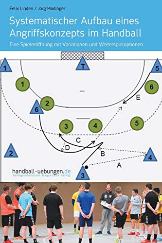 Systematischer Aufbau eines Angriffskonzepts im Handball: Eine Spieleröffnung mit Variationen und Weiterspieloptionen por Felix Linden