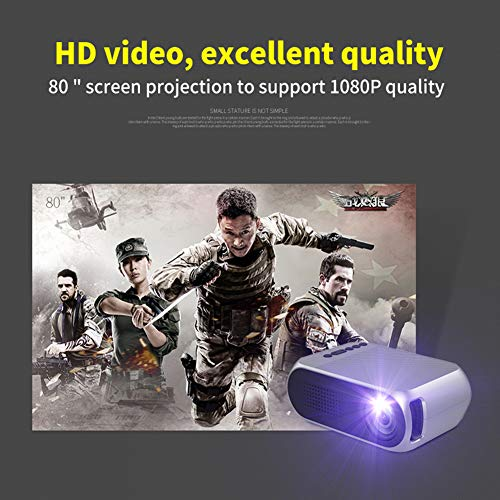 Projector ZN Z mini miniature home LEDYG320 projector high 1083p comes with speaker compatible equipment