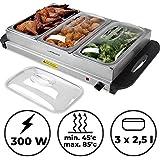 Jago - Calentador de Comida para Buffet (Diferentes tamaños y Sets a Elegir)