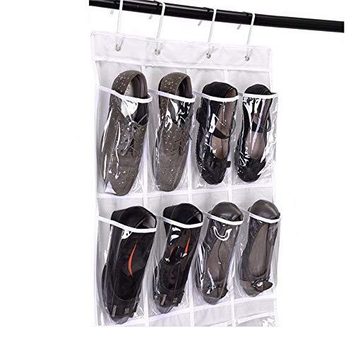 24 Taschen Wandbehang Aufbewahrungstasche Hängende Tür Schuh Veranstalter Aufbewahrungstasche Für Schlafzimmer, Küche, Bad