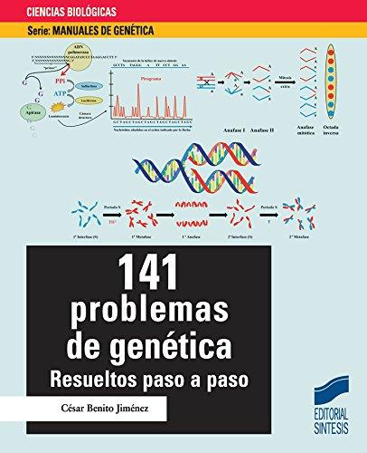 Descargar Libro 141 problemas de genética de César Benito Jiménez