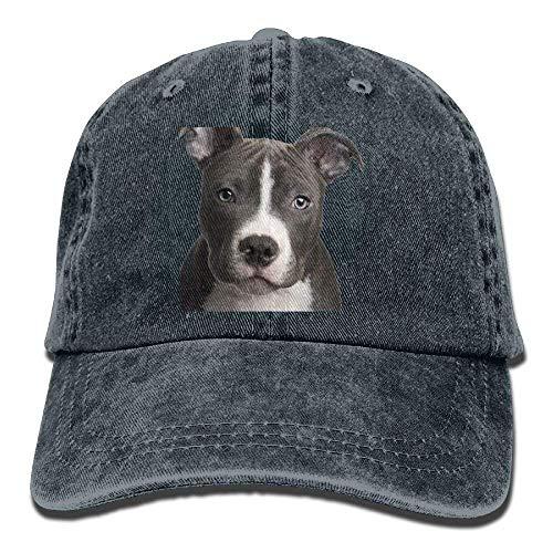 Jxrodekz American-Pit-Bull-Terrier-Hund-Tapete-10 Snapback Cotton Cap EE625 -