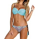 CICIYONER Gepolsterter Push-Up-BH für Damen Bikini-Set Badeanzug Badeanzüge Bademode Beachwear