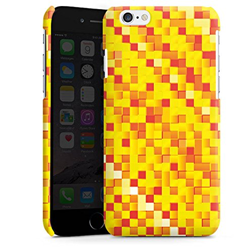 Apple iPhone 5s Housse Étui Protection Coque Motif Motif Pixel Cas Premium brillant