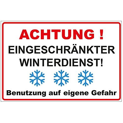 Schild Wetterfest
