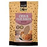 SOW Seeds of Wellness - Chia & Flax Baker - Chia Samen Mehl und Leinsamen 500g