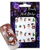EigenArt X-MAS Delight Nail Art Sticker für Weihnachten