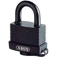 ABUS Allwetterschloss Messing-Vorhangschloss 70/45 Marine 32130
