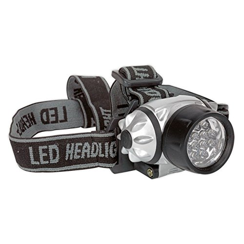 SEALEY ht07led 12 LED Lampe Torche Aaa cellules Tête