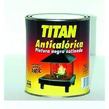 Titan M71754 - Pintura anticalorica negra 375 ml