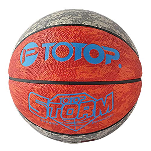 DEH TOTOP Outdoor PU Material Cuero Balón Baloncesto