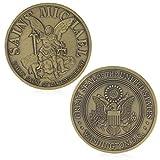 JIACUO Gedenkherausforderung Washington Saint Michael prägt Sammlungs-Geschäfts-Geschenk -