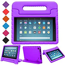 Funda de goma EVA para Kindle Fire HD 8 (2017 y 2018) (Varios colores)