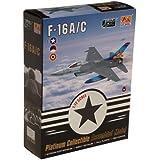 "Easy Model 1:72 Scale ""F-16A Fighting Falcon MLU BAF 1st Sqd Beglum 2003"" Model Kit by Easy Model"