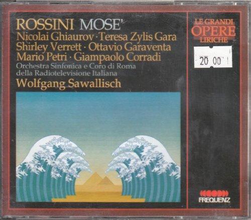 Gioacchino Rossini: Mosè (Opern-Gesamtaufnahme) (live Rom 1968) (2 CD-Box) Gloria Music Box