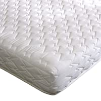 Happy Beds Deluxe Bonnell Spring Reflex Foam Orthopaedic Mattress, Various Sizes