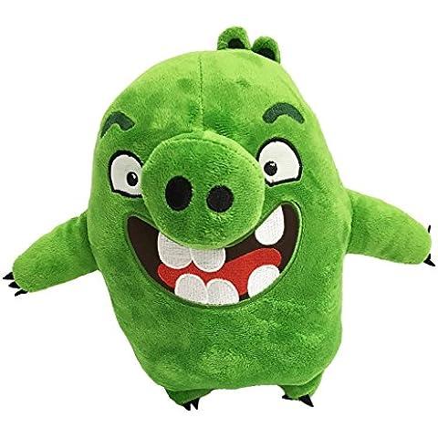 Angry Birds la película - Peluche Piggies, cerdo verde 26cm Calidad super soft