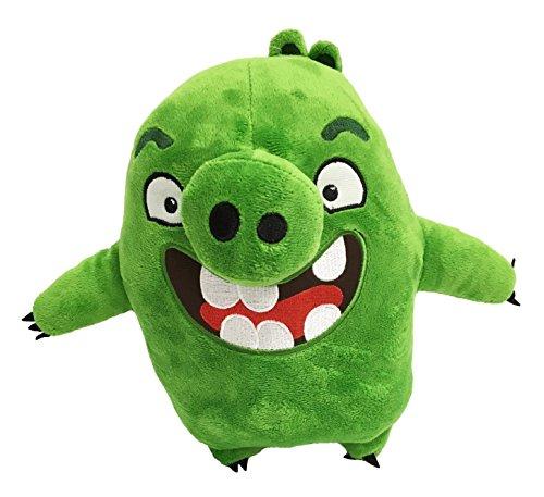 "Angry Birds - Green Pig Leonard Plush - Movie - 26cm 10"""