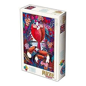 Unbekannt D de Toys 1-Puzzle 1000Andrea Kurti Tropical Exotic Birds