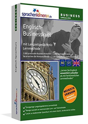 Englisch-Businesskurs mit Langzeitgedächtnis-Lernmethode von Sprachenlernen24.de: Lernstufen B2+C1....