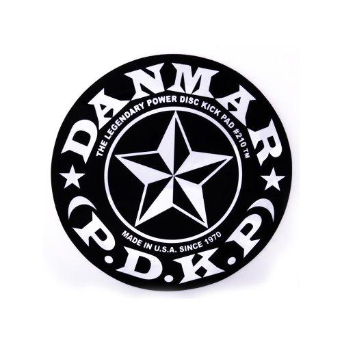 Danmar DA 210STR Kickpad für Bassdrum Stern-Design