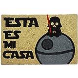 Koko Dormats Felpudo para Entrada de Casa Original, Star Wars, Fibra de Coco y PVC, 40x60cm