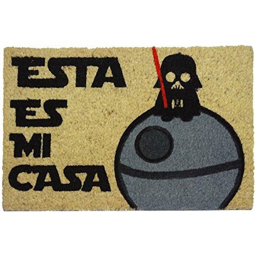 Felpudos Originales  con Diseño Esta Es Mi Casa, PVC, Coco, 60 x 40 c