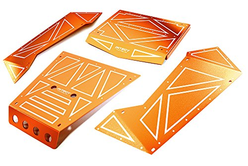 Integy RC Model Hop-ups C27006ORANGE Aluminum Alloy Panel Kit for Axial 1/8 Yeti XL Rock Racer Buggy - Yeti Rc-kit