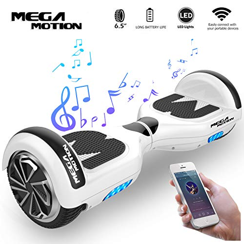 "Mega Motion Elektro Scooter E1-6,5\"" Segway - Bluetooth - EU Sicherheitstandard"