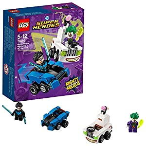 LEGO- Super Heroes Mighty Micros: Nightwing conThe Joker, Multicolore, 76093 5702016110876 LEGO