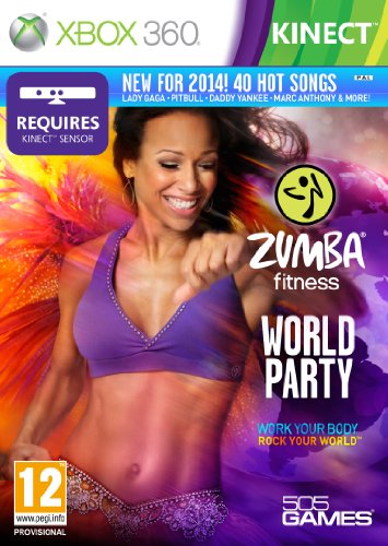 ZUMBA WORLD PARTY X360 KINECT UK