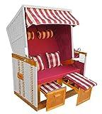 das wohnwerk! Strandkorb Ostsee de Luxe XL. Jetzt mit zweiten Bezug gratis + 2 Kissen