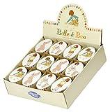 Belle & Boo - geprägt Oval Schmuck / Keksdose - Perfekte Strumpf Füller - Belle, Korb & Boo