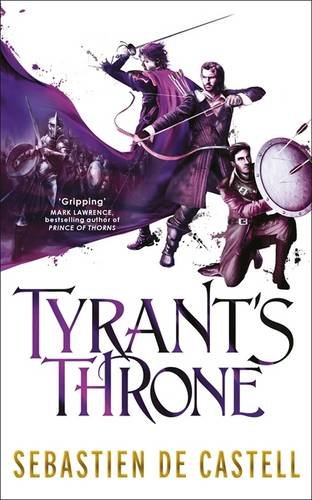 book cover of Tyrant's Throne