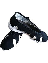 ZooBoo Chinesische Buddhistische Mönch Schuhe - Buddhisten Schuhe Wushu Kung  Fu Tai Chi Slipper und Sneaker f648c4b462