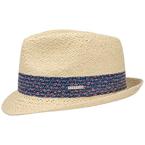 colour-band-raffia-trilby-hat-stetson-straw-hat-beach-hat-xxl-62-63-nature