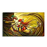 Tamatina Canvas Paintings - Radha Krishna - Divine Love - Radha Krishna Paintings - Modern Art Paintings - Paintings For Home Décor - Paintings For Bedroom - Paintings For Living Room - Religious Canvas Paintings - Hindu Paintings For Wall