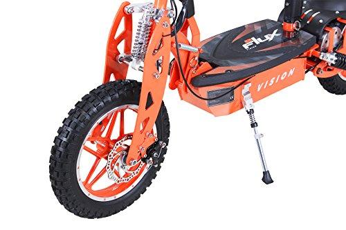 E-Scooter Roller Original E-Flux Vision mit 1000 Watt 36 V Motor Elektroroller E-Roller E-Scooter in vielen Farbe (orange) - 2
