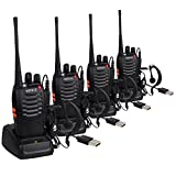 Best Handheld Cb Radios - Walkie Talkies-Long Range Walkie Talkie with Original Earpieces Review
