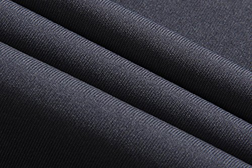 jeansian Herren Sportswear Quick Dry Short Sleeve T-Shirt LSL020 LSL1052_DarkGray