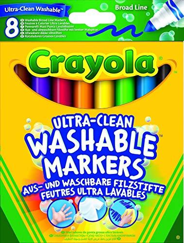 Crayola 8-Ultra reinigen waschbar Breiten