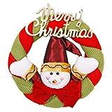 Petalum Weihnachtsgirlande Tannengirlande Led Weihnachtsdeko Beleuchtung mit Lichtkette Plug In Weihnachtsgirlande Restraurant Shop Party Tür Indoor Outdoor Weihnachtsbaum Deko (One Size, Mehrfarbig)